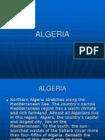 Northern Algeria Stretches Along the Mediterranean Sea.
