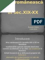 Arta Romaneasca in Sec.xix-XX