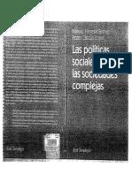 Herrera Manuel y Pedro Caston. Las Politicas Sociales en Sociedad Complejas
