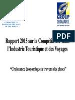 Rapport 2015 sur la Compétitivité dans l'Industrie Touristique et des Voyages