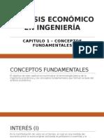 Análisis Económico en Ingeniería - Ppt Capitulo 1