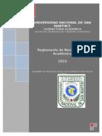 Reglamento de Normatividad Académica-2010