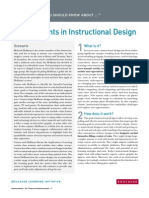 7 Things You Should Know About Developments in Instructional Design (265090085)