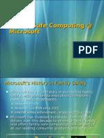 Family Safe Computing @ Microsoft