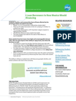 Student Loan Fact Sheet - NM