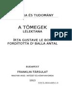 Le Bon Gustave a Tomegek Lelektana