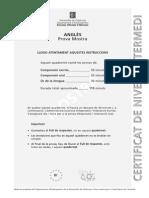 EOI - first certificate
