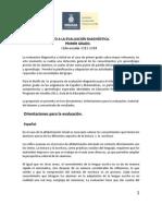 Orientaciones para el docente Diagnóstico 1° version