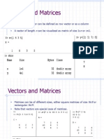 Matlab Ttutorial Matrices