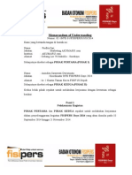 Memorandum of Understanding FISIPERS DAYS 2014 Untuk Akumaru.com