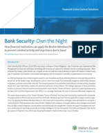 2011 Whitepaper - Bank Security Own the Night