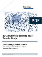 2012 Business Banking Trust Trends Report