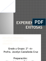 Experiencias Exitosas Jossie 2do Grado