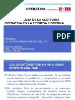 Auditoria Operativa - Semana 1