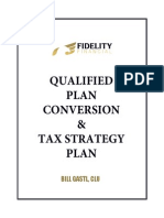 2015 Qualified Plan Conversion & Tax Strategy Plan