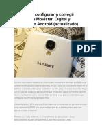 Apn Digitel Movistar Movilnet