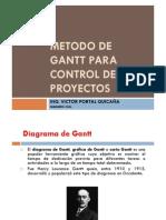 METODO DE GANTT
