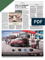 12-05-2015 - El Comercio - Satélites Ayudarán a Combatir La Deforestación en Ucayali