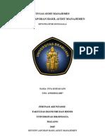 Review Laporan Hasil Audit Manajemen Kpn Donggala