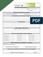 Ordem de Serviço de Manutenção Predial Nº 3