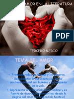 Tema Del Amor en La Literatura