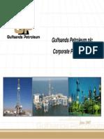 Gulf Sand Reservoir Properties
