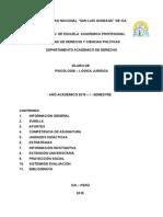 Sylabus - Dr. Flores 2015