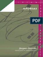 Derrida, J - Aporias (Stanford, 1993)