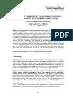 Service Quality Assessment in Pt. Indokemika Jayatama