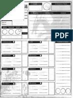 Small 2 Page Char Sheet