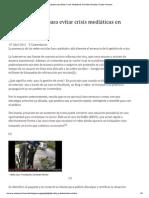 4 Consejos Para Evitar Crisis Mediaticas en Redes Sociales _ Factor Humano