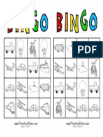 Transportation Bingo 3