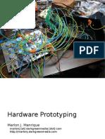 Hardware Prototyping (Prototipado de Hardware)