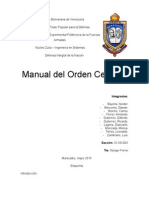 Manual de Orden Cerrado