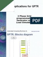 GPTR Applications