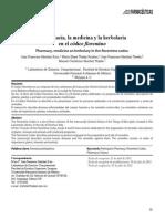 La Farmacia, La Medicina y La Herbolaria en El Codice Florentino