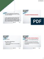 Estudios Epidemiologicos 2015