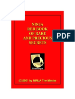 NINJA Red Book of Rare End Precious Secrets