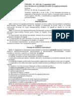 HG 1492 Din 2004 - Principiile de Organizare, Functionarea Si Atributiile Serviciilor de Urgenta
