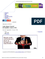 Lula Chama Youssef de Bandido e Ataca o PiG _ Conversa Afiada