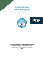 Teknik Pengelasan Oksi Asetilena Oaw