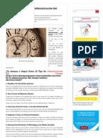 10 Tips Para Mejorar Tu Administración Del Tiempo