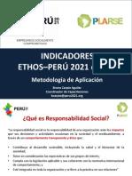 Aplicación Indicadores Ethos - Perú 2021 - Bruno Carpio