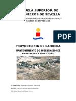 P.F.C.-mantenimiento de Subestaciones Basado en La Fiabilidad