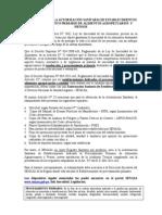 Requisitos Autorización Sanitaria Establecimientos Alimentos Agropecuarios Primarios y Piensos