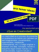 Ideas Creatividad