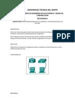Lab 1a. Principios Basicos de Conexion y Configuracion de Un Router.