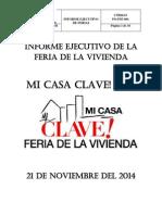 Informe-Ejecutivo Feria de La Vivienda