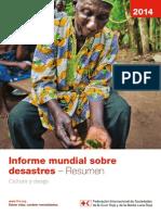 Informe mundial ante desastres