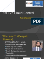 EM 12c Architecture Brief Introduction